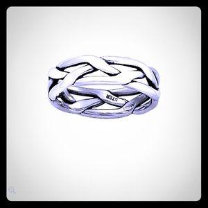 James Avery Tresse men's size 10.5 ring